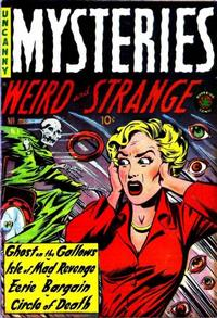 Cover Thumbnail for Mysteries (Superior, 1953 series) #4