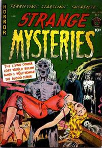 Cover Thumbnail for Strange Mysteries (Superior Publishers Limited, 1951 series) #1