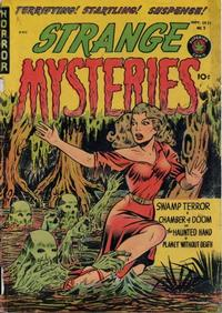 Cover Thumbnail for Strange Mysteries (Superior Publishers Limited, 1951 series) #2