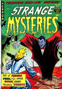 Cover Thumbnail for Strange Mysteries (Superior Publishers Limited, 1951 series) #3