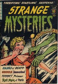 Cover Thumbnail for Strange Mysteries (Superior Publishers Limited, 1951 series) #4