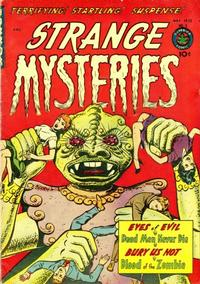 Cover Thumbnail for Strange Mysteries (Superior Publishers Limited, 1951 series) #5