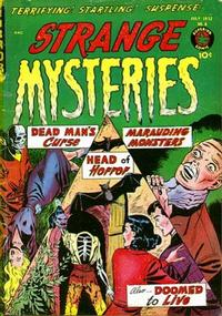 Cover Thumbnail for Strange Mysteries (Superior Publishers Limited, 1951 series) #6