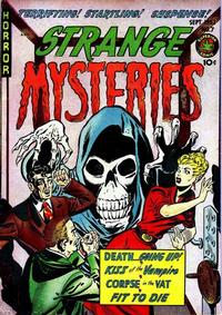Cover Thumbnail for Strange Mysteries (Superior Publishers Limited, 1951 series) #7