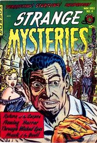 Cover Thumbnail for Strange Mysteries (Superior Publishers Limited, 1951 series) #8