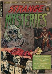 Cover Thumbnail for Strange Mysteries (Superior Publishers Limited, 1951 series) #9