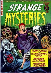 Cover Thumbnail for Strange Mysteries (Superior Publishers Limited, 1951 series) #10