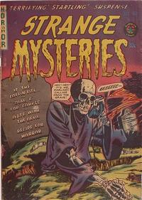 Cover Thumbnail for Strange Mysteries (Superior Publishers Limited, 1951 series) #11