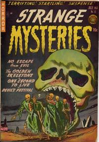 Cover Thumbnail for Strange Mysteries (Superior Publishers Limited, 1951 series) #12