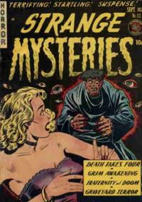 Cover Thumbnail for Strange Mysteries (Superior Publishers Limited, 1951 series) #13
