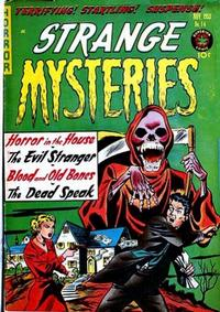 Cover Thumbnail for Strange Mysteries (Superior Publishers Limited, 1951 series) #14