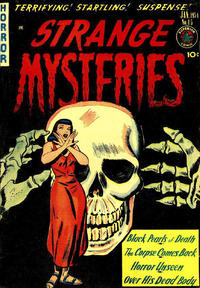 Cover Thumbnail for Strange Mysteries (Superior Publishers Limited, 1951 series) #15