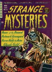 Cover Thumbnail for Strange Mysteries (Superior, 1951 series) #16