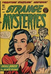 Cover Thumbnail for Strange Mysteries (Superior Publishers Limited, 1951 series) #17