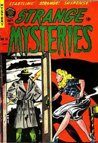 Cover Thumbnail for Strange Mysteries (Superior Publishers Limited, 1951 series) #19