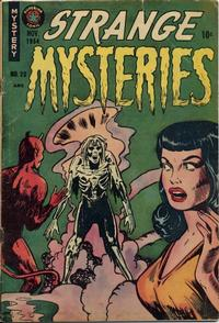 Cover Thumbnail for Strange Mysteries (Superior Publishers Limited, 1951 series) #20