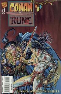 Cover Thumbnail for Conan vs. Rune (Marvel, 1995 series) #1