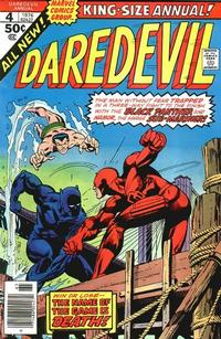 Cover Thumbnail for Daredevil Annual (Marvel, 1967 series) #4
