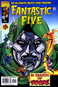 Cover Thumbnail for Fantastic Five (Marvel, 1999 series) #5