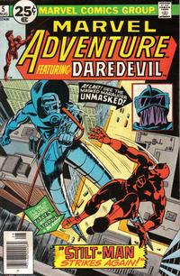 Cover Thumbnail for Marvel Adventure (Marvel, 1976 series) #5