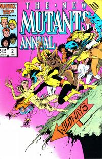 Cover Thumbnail for The New Mutants Annual (Marvel, 1984 series) #2 [direct]