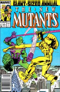 Cover Thumbnail for The New Mutants Annual (Marvel, 1984 series) #3