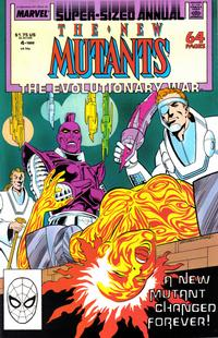 Cover Thumbnail for The New Mutants Annual (Marvel, 1984 series) #4