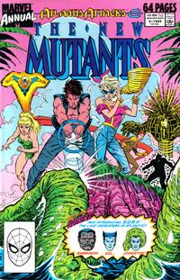 Cover Thumbnail for The New Mutants Annual (Marvel, 1984 series) #5 [Direct]