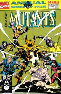 Cover Thumbnail for The New Mutants Annual (Marvel, 1984 series) #7