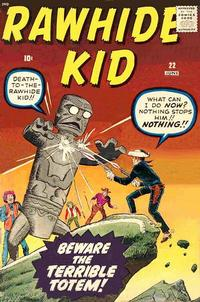 Cover Thumbnail for The Rawhide Kid (Marvel, 1960 series) #22