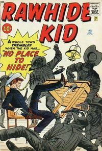 Cover Thumbnail for The Rawhide Kid (Marvel, 1960 series) #23