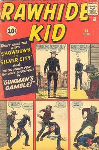 Cover Thumbnail for The Rawhide Kid (Marvel, 1960 series) #24