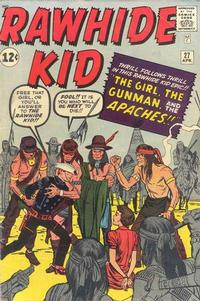 Cover Thumbnail for The Rawhide Kid (Marvel, 1960 series) #27