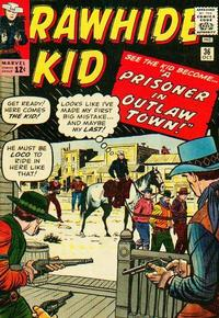 Cover Thumbnail for The Rawhide Kid (Marvel, 1960 series) #36