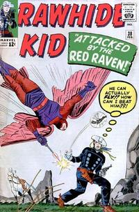 Cover Thumbnail for The Rawhide Kid (Marvel, 1960 series) #38