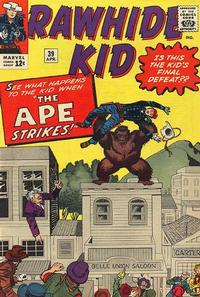 Cover Thumbnail for The Rawhide Kid (Marvel, 1960 series) #39