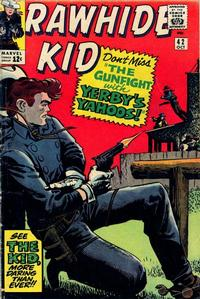 Cover for The Rawhide Kid (Marvel, 1960 series) #42