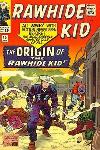 Cover Thumbnail for The Rawhide Kid (Marvel, 1960 series) #45