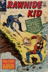 Cover for The Rawhide Kid (Marvel, 1960 series) #50