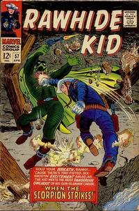 Cover Thumbnail for The Rawhide Kid (Marvel, 1960 series) #57