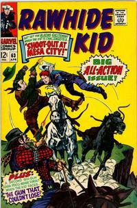 Cover Thumbnail for The Rawhide Kid (Marvel, 1960 series) #63