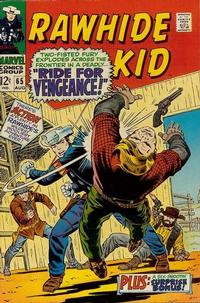 Cover for The Rawhide Kid (Marvel, 1960 series) #65