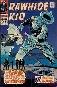 Cover Thumbnail for The Rawhide Kid (Marvel, 1960 series) #66