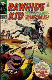 Cover Thumbnail for The Rawhide Kid (Marvel, 1960 series) #67
