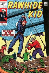 Cover Thumbnail for The Rawhide Kid (Marvel, 1960 series) #70
