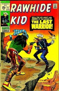 Cover for The Rawhide Kid (Marvel, 1960 series) #71