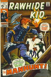 Cover for The Rawhide Kid (Marvel, 1960 series) #73