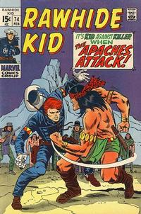 Cover Thumbnail for The Rawhide Kid (Marvel, 1960 series) #74