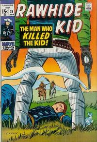 Cover for The Rawhide Kid (Marvel, 1960 series) #75