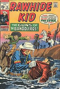 Cover Thumbnail for The Rawhide Kid (Marvel, 1960 series) #76